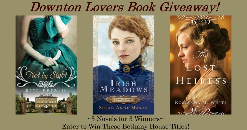 Historical Romance Novel Giveaway. Enjoy the world of Downton Abbey? Enter for a chance to win one of these historical novels from Bethany House! Each is set in the elegant style and tradition of early 20th century England or New York.