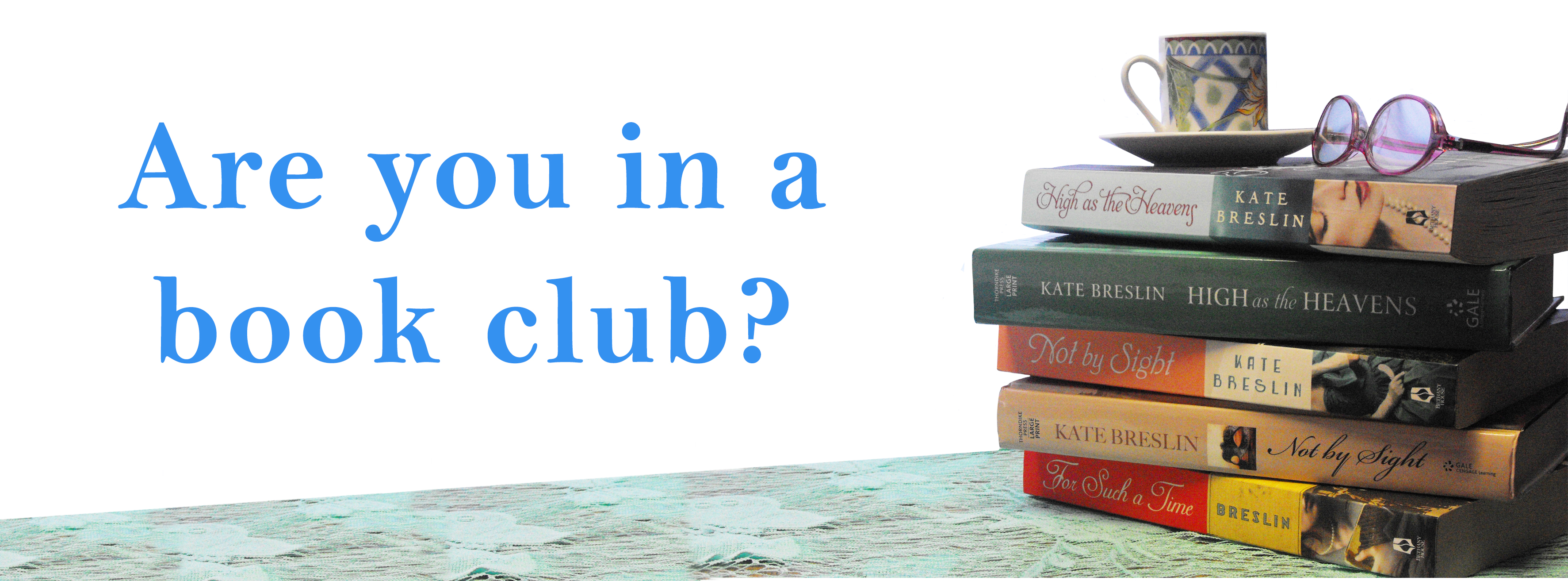 Join Kate Breslin's Book Club