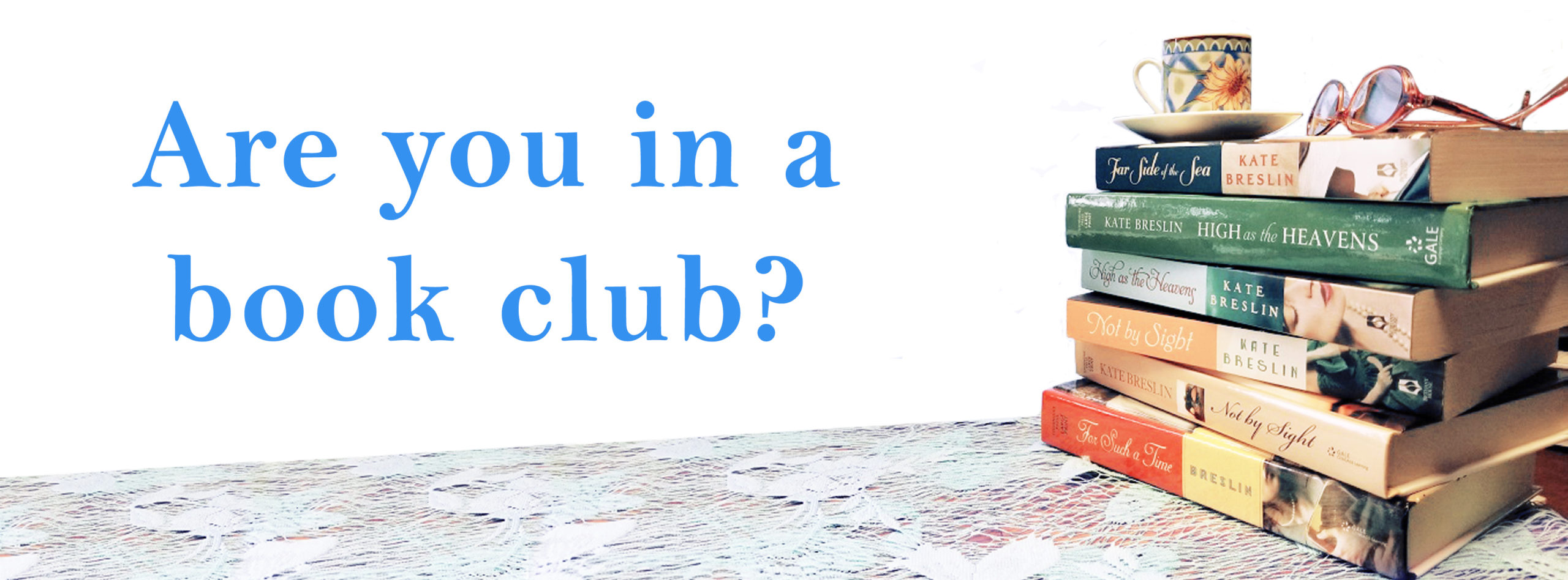 new in a book clup graphic